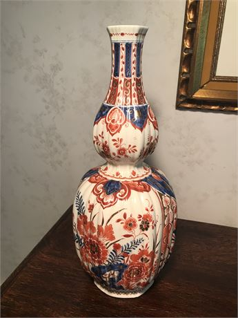 Delft Polychrome Vase