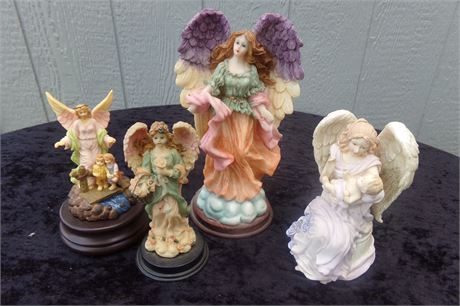 Angel musical figurines