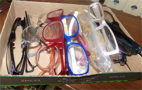 Large Group of Reading Glasses