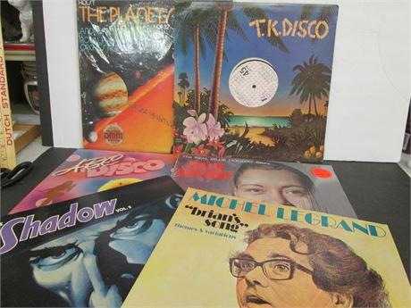 6 Vintage Collectible LP Record  Albums Lot
