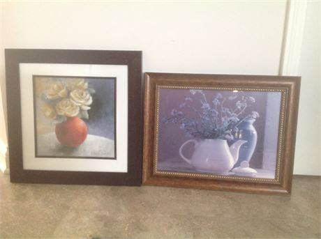 Wall Decor Still Life - Two Pieces