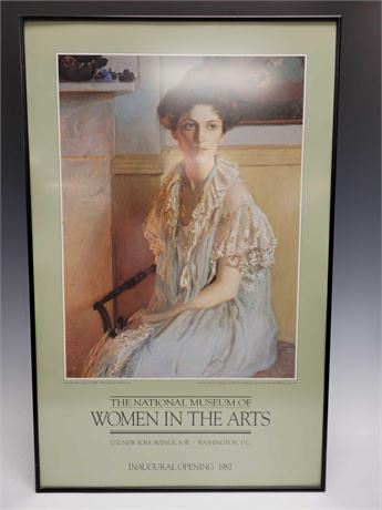 Women in the Arts National Museum Professionally Framed Poster