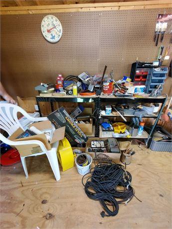 Tool Lot Shed Lot Shelves ++