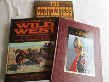 Vintage Time Life American Indian Wild West Book Lot