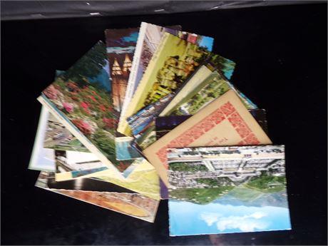 Assorted  older postcards