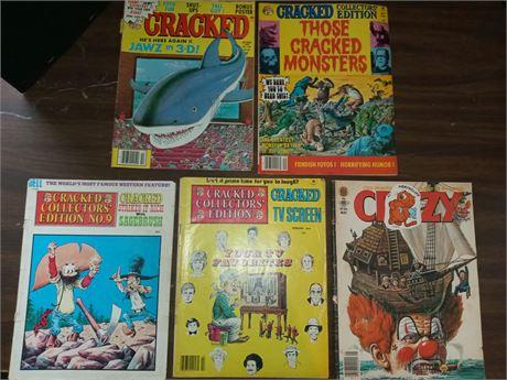 Cracked magazines