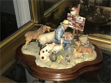 Lowell Davis - Scotland -Limited Edition Figurine