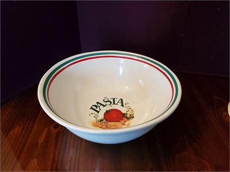 Pfaltzgraff Treasure Craft Pasta Bowl