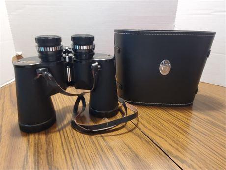Vintage Focal Binoculars in Case