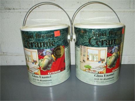 2 Gallons Graham Aqua Borne Ceramic Aluminum Gloss Enamel Base
