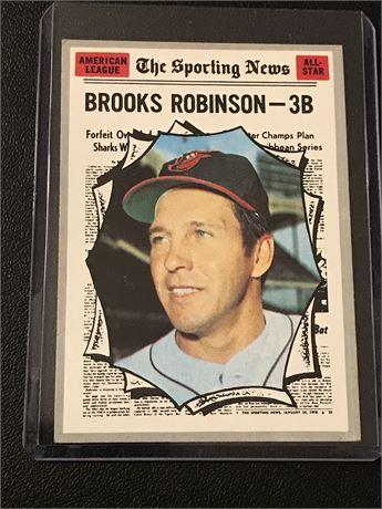 1970 Topps #455 Brooks Robinson