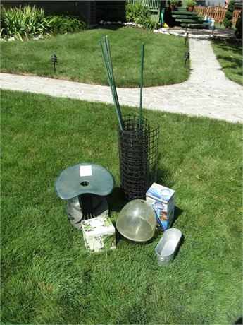 Grow & Show Plant Light, Fencing, Water Globes, and More