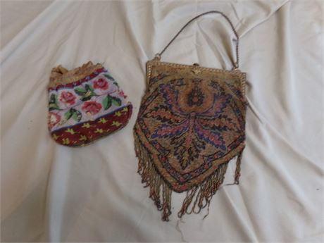 Vintage Beaded Bags-
