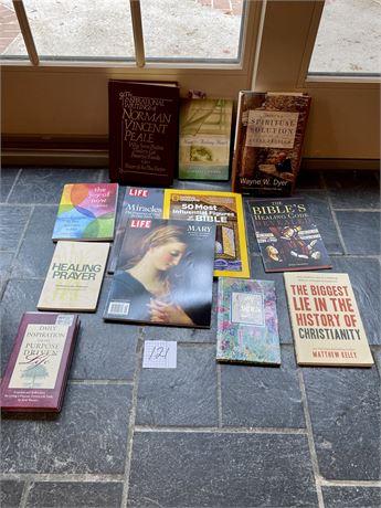 Healing, Prayer, and Inspiration Book Lot