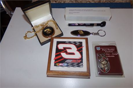 Dale Earnhardt pocket watch, other items