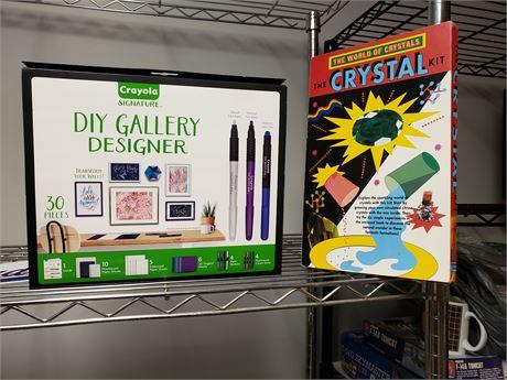 D I Y Gallery Designer & Crystal kits